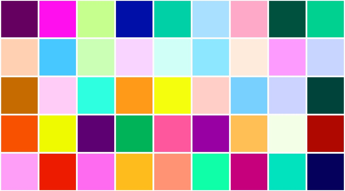 Pretty Colors That Blog Color For